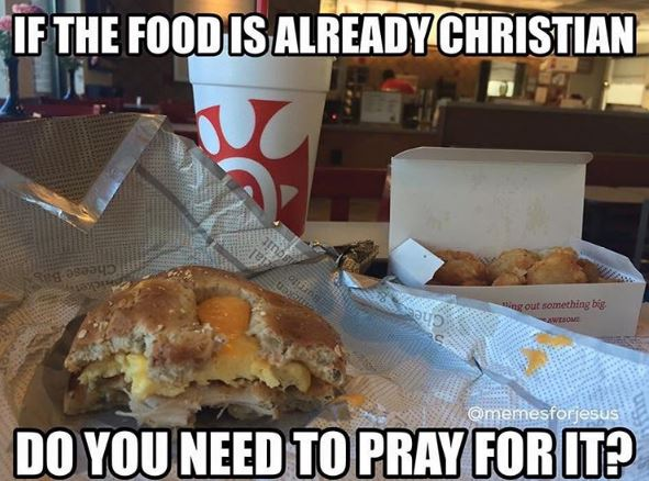 do-we-need-to-pray-for-christian-food-meme