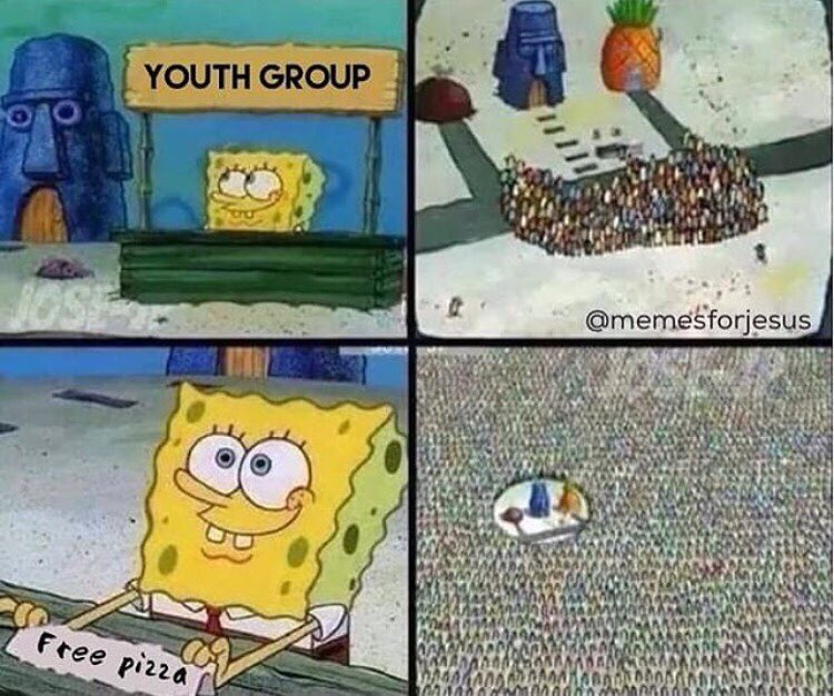 when-you-put-pizza-out-at-youth-group