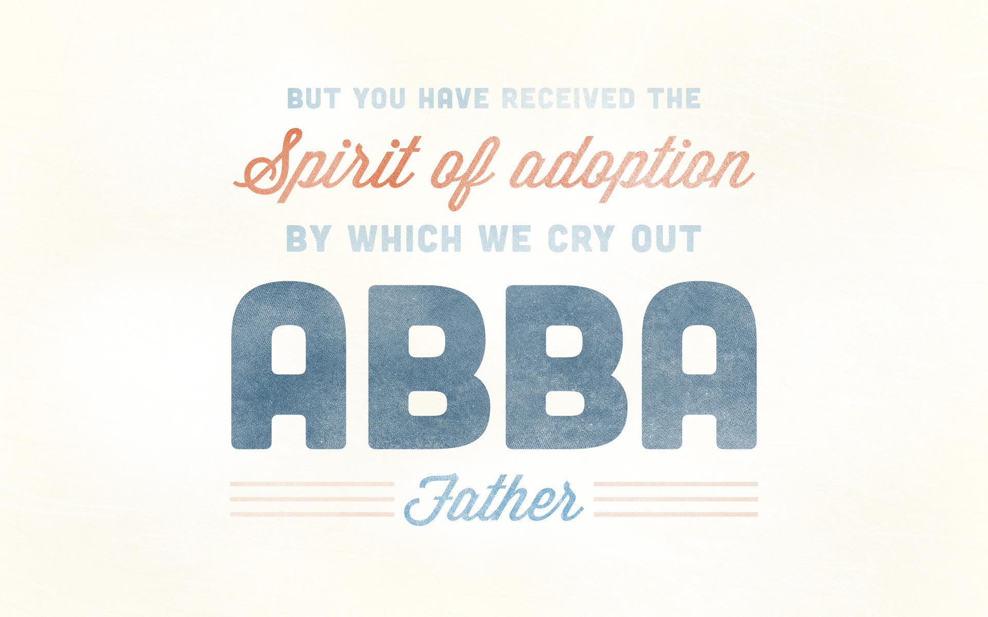 Galatians Abba Father