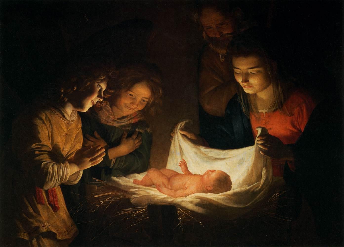 gerrit-van-honthors-adoration-of-the-child