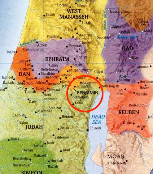 map-of-ancient-israel-and-tribe-locations – Dust Off The Bible