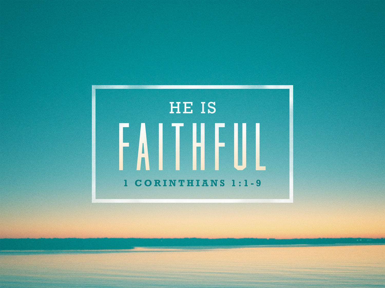 1 Corinthians 1:1-9