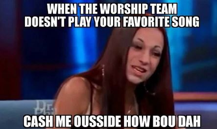 Cash me outside meme