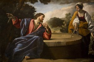 Christ and the Woman of Samaria by Giovanni Lanfranco