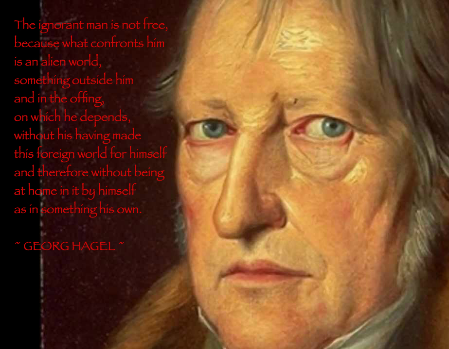 Hegel, and even Nietzsche see the Christian Ethic