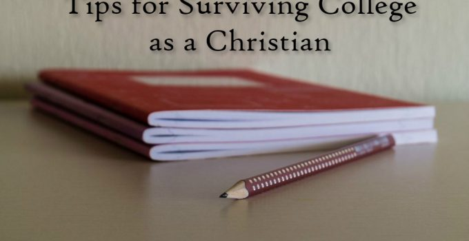 Surviving college as a Christian