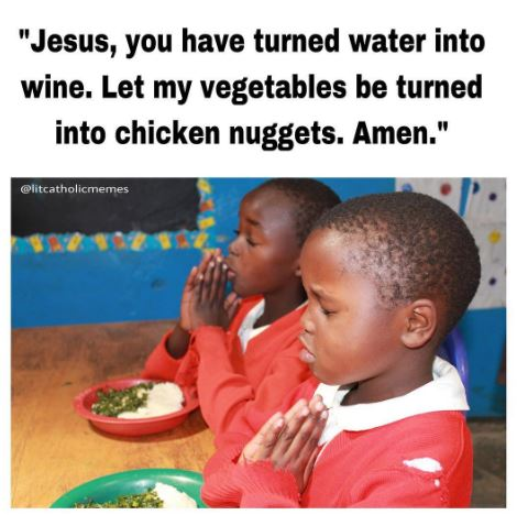 When you dont wanna eat your food litcatholicmemes