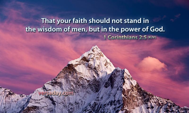 Daily Bible Reading Devotional [1 Corinthians 2:1-16]-February 7, 2017