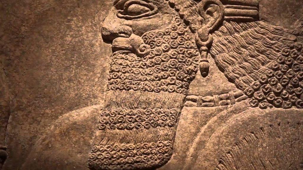 Biblical Archaeology: The Banquet Stela of Ashurnasirpal II