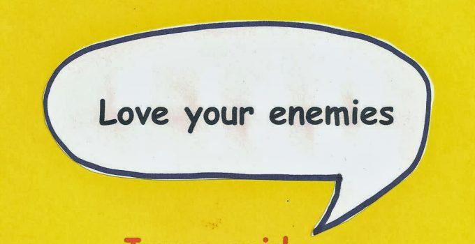 Sermon on the Mount, Love Your Enemies