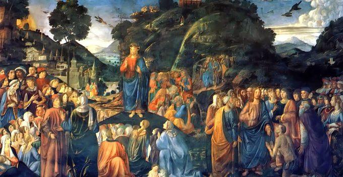 Sermon on the Mount Osimo Rosselli 1481