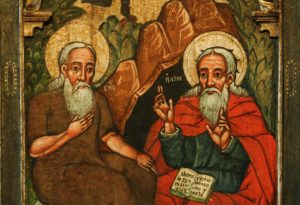 elijah and enoch seventeenth century icon historic museum insanok poland