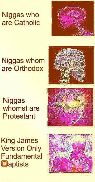 Niggas whomst are KJVO meme