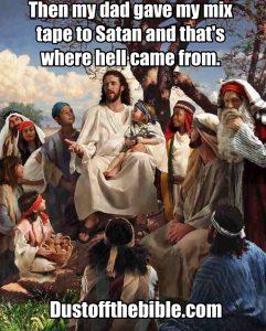 Story time Jesus mix tape meme