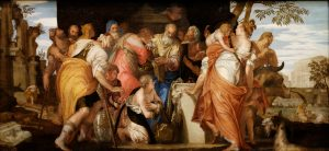 The Anointing of David- Veronese 1555