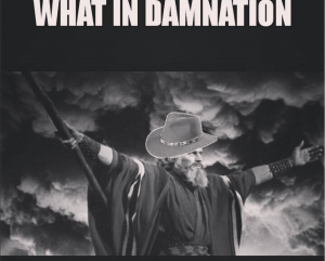 What in damnation meme