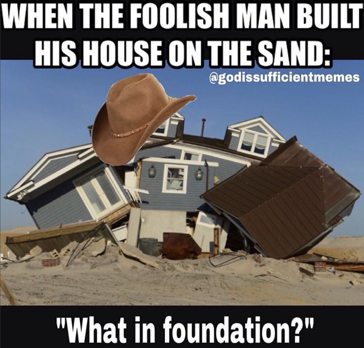 what in foundation meme