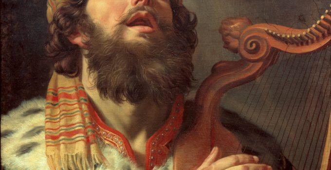 Gerard van Honthorst - King David Playing the Harp