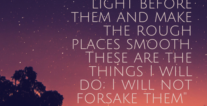 Isaiah 42.16