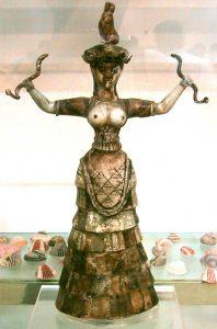 Ishtar as Egyptian goddess Astarte 1600bc1