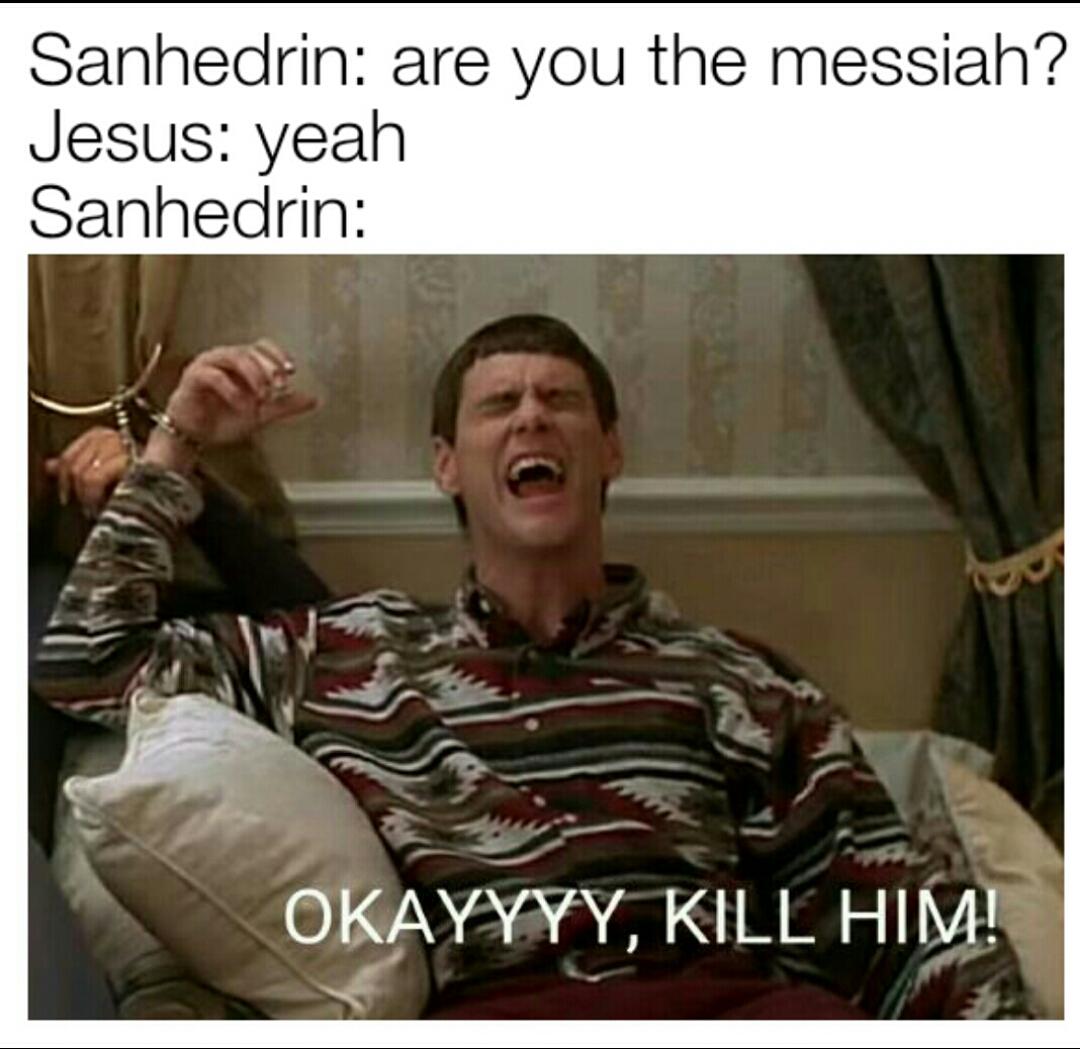Jesus VS Sanhedrin