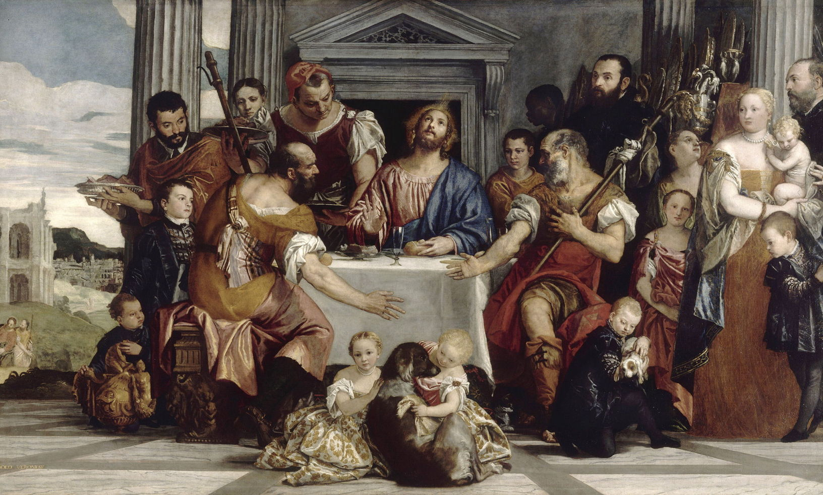 Paolo Veronese, The Supper at Emmaus 1559