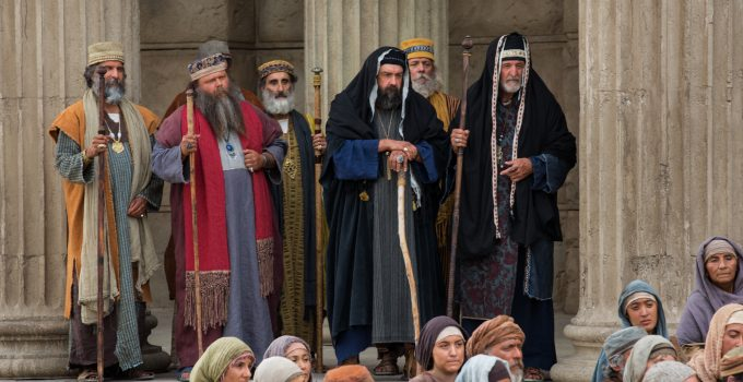 Sadducces and Pharisees