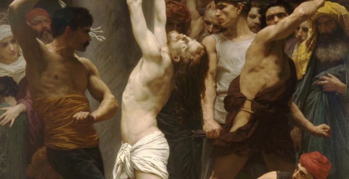 William Adolphe Bouguereau - The Flagellation of Our Lord Jesus Christ