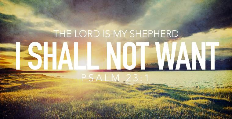 Daily Bible Reading Devotional [Psalm 23]-May 2, 2017