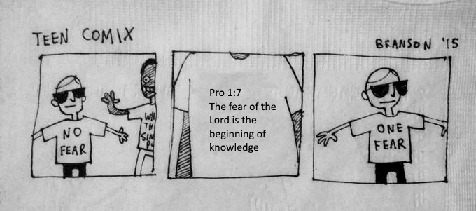 One fear shirt meme