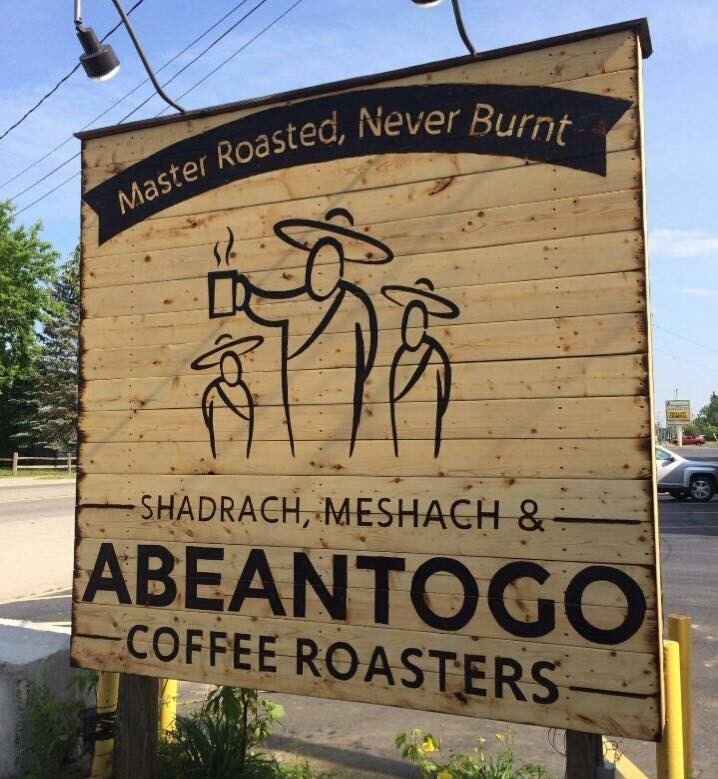 Roasted but not burned shadrack meshack and abendigo coffee