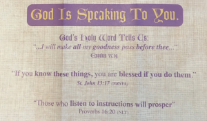 Saint Matthews Churches God is Speaking to You