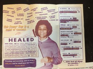 Saint Matthews Churches Healed Poster