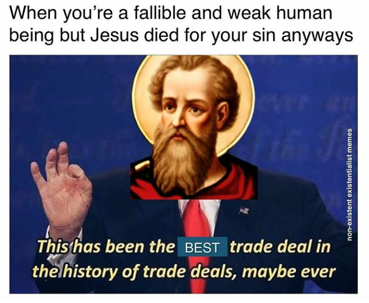 Salvation this has been the best trade deal ever