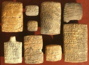 Selection of tablets discovered in Nuzi