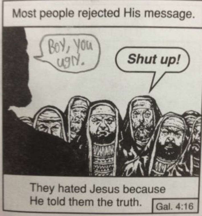 They hated his message meme