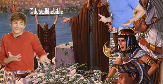 How did all these frogs get here Moses dank christian meme