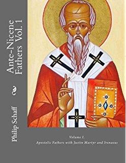 ANF01. The Apostolic Fathers Vol 1