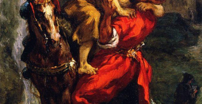Eugène Delacroix: The Good Samaritan (1849)