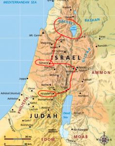 Jesus' Journey to Jerusalem