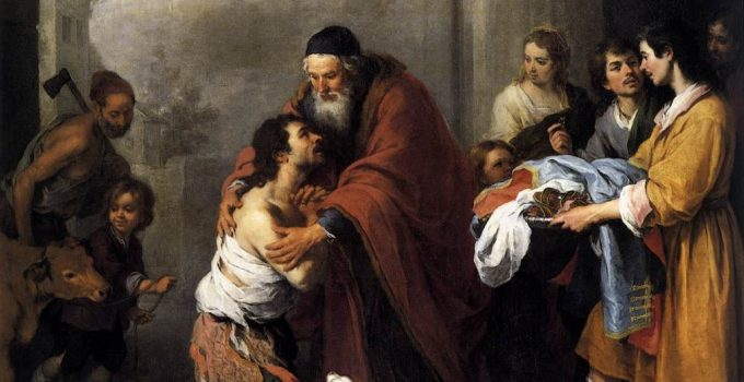 Return of the Prodigal Son 1667-1670, Murillo