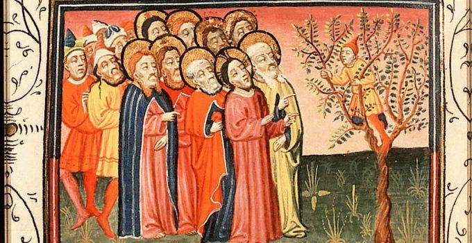 1430, Jesus Encounters Zacchaeus