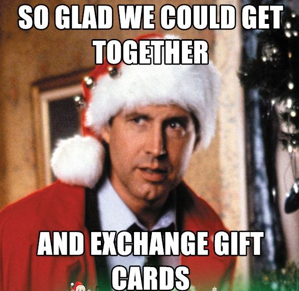 Exchanging gift cards