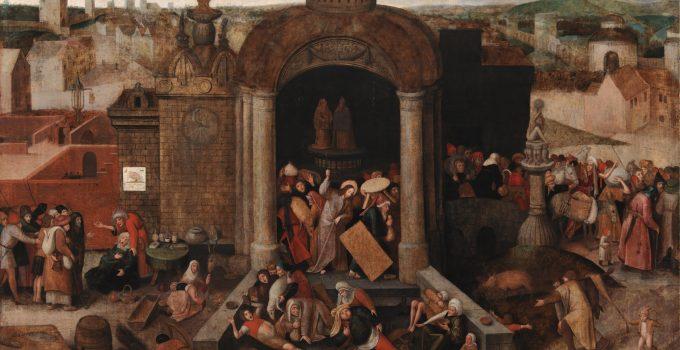 Հիսուս Քրիստոսը մաքրում է տաճարը