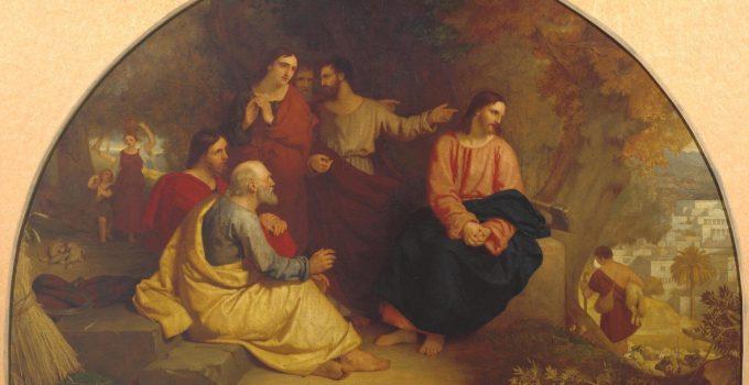 Sir Charles Կողպել Eastlake, Քրիստոսն ողբում է Երուսաղեմի