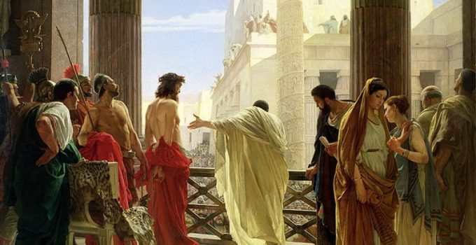 Antonio Ciseri's depiction of Ecce Homo, 1871.
