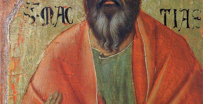 Apostle Matthias Icon, 1311