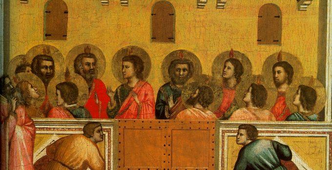 Giotto di Bondone, Pentecost, 1320-25