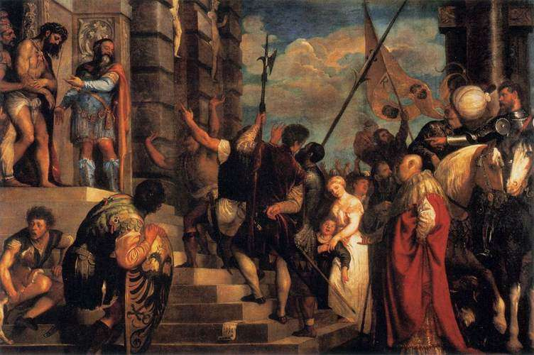 Հիսուսը Pilate- ի առջեւ