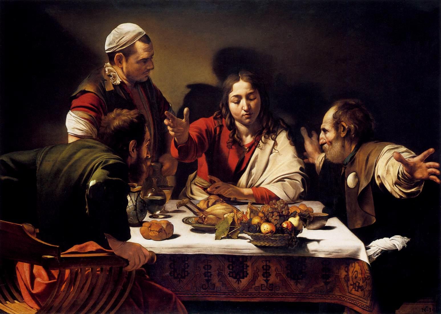 Michelangelo - Supper at Emmaus